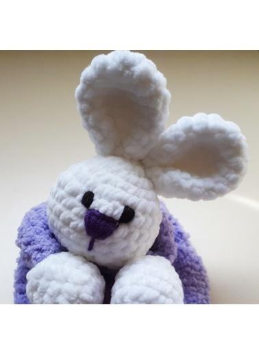 Damla Oyuncak Damla Oyuncak Tavşan Örgü Peluş Renkli Peluş Oyuncak Renkli